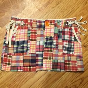 American eagle patchwork skirt